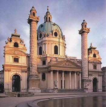 Wien st karl borrom us for Architektur 4 1