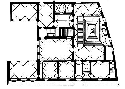 villa medici careggi grundri. Black Bedroom Furniture Sets. Home Design Ideas